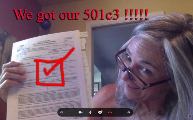 We got our 501c3 Letter!